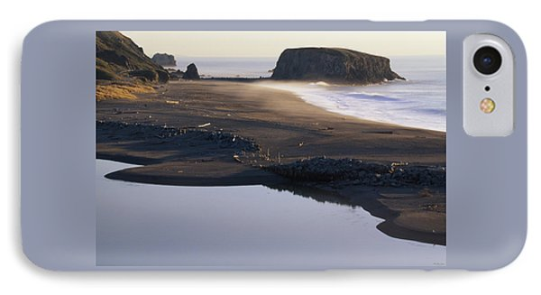 Russian River And Goat Rock IPhone Case by Soli Deo Gloria Wilderness And Wildlife Photography