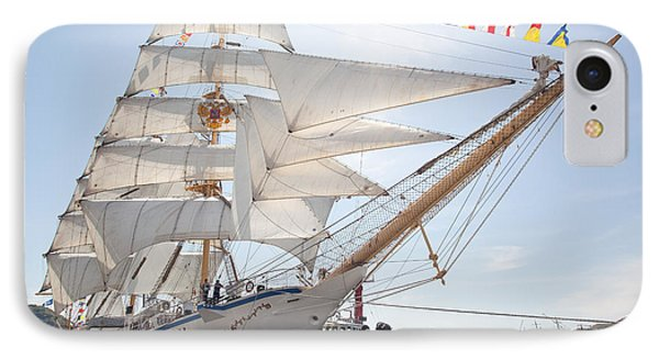 IPhone Case featuring the photograph Russian Sailing Ship by Aiolos Greek Collections
