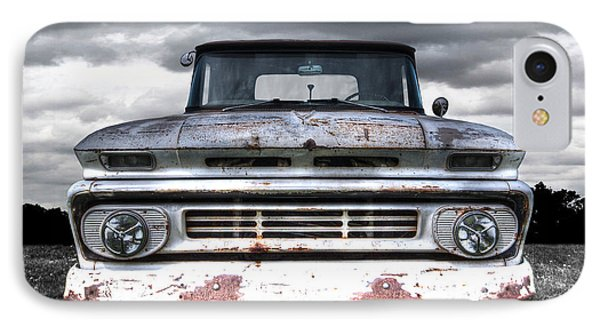 Rust And Proud - 62 Chevy Fleetside IPhone Case by Gill Billington