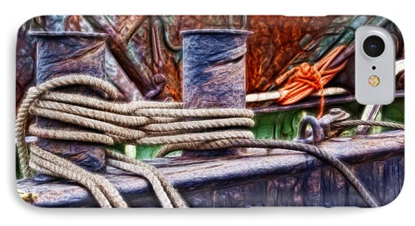Rust And Rope IPhone Case by Cameron Wood