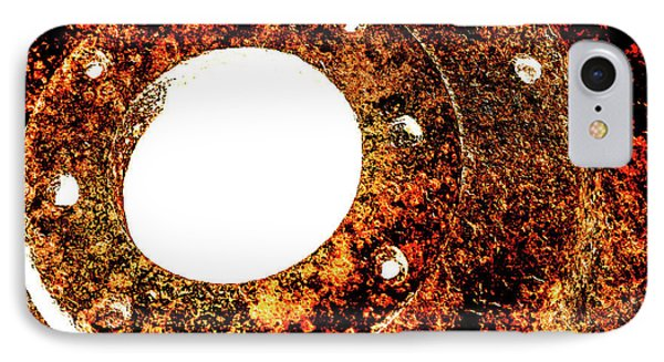 IPhone Case featuring the photograph Rust In Infrared by Onyonet  Photo Studios