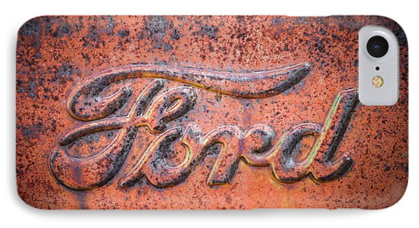 Rust Never Sleeps - Ford IPhone Case