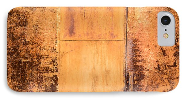 Rust On Metal Texture IPhone Case by John Williams