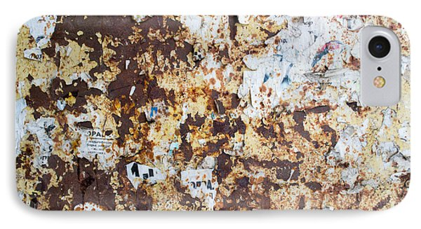 Rust Paper Texture IPhone Case by John Williams