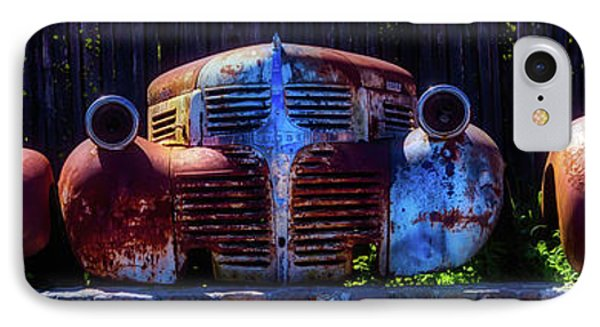 Rusted Out Old Cars IPhone Case by Garry Gay