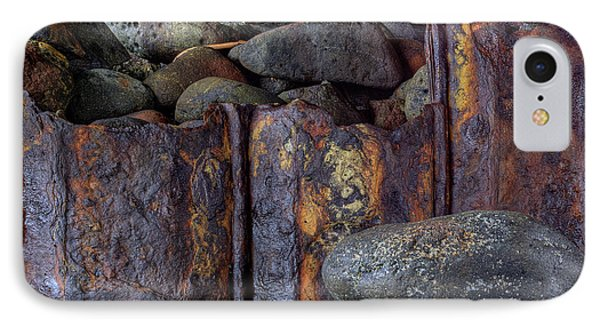Rusted Stones 3 IPhone Case