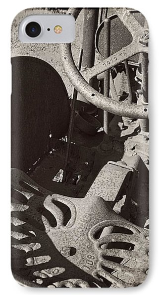 IPhone Case featuring the photograph Rusted Tractor by Michelle Calkins