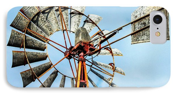 S And L Windmill IPhone Case