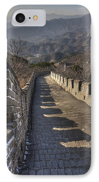 Rusti  Great Wall Hdr IPhone Case by Matthew Bamberg