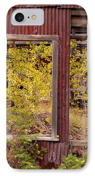 Rustic Autumn IPhone Case by Leland D Howard