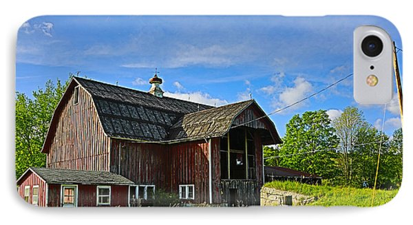 IPhone Case featuring the photograph Rustic Barn In The Catskills by Paula Porterfield-Izzo