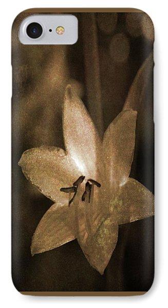 Rustic Bloom IPhone Case