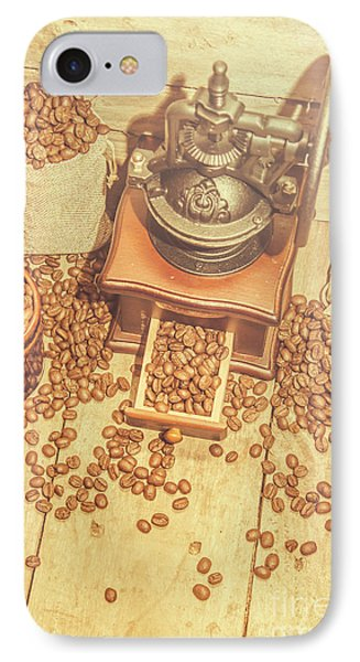Rustic Country Coffee House Still IPhone Case by Jorgo Photography - Wall Art Gallery
