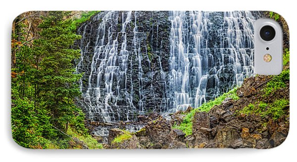 IPhone Case featuring the photograph Rustic Falls  by Rikk Flohr
