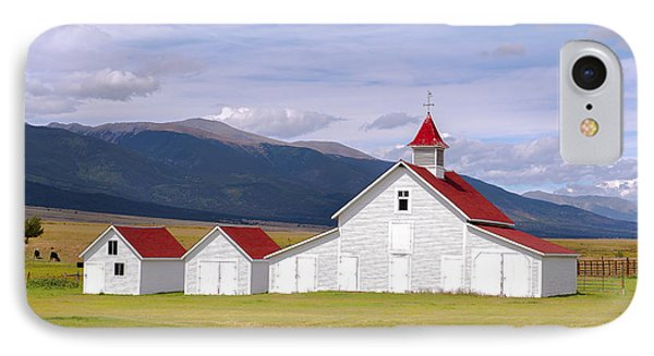 Rustic Farm Setting IPhone Case by Tim Reaves