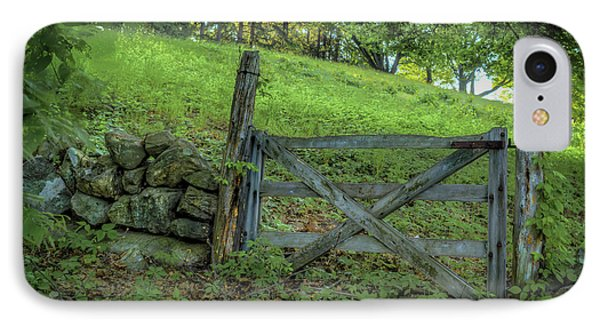 Rustic Gate IPhone Case by Rick Mosher