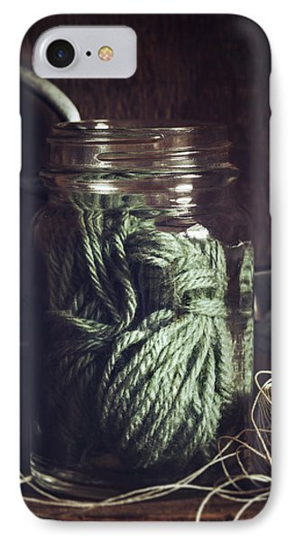 IPhone Case featuring the photograph Rustic Green by Amy Weiss