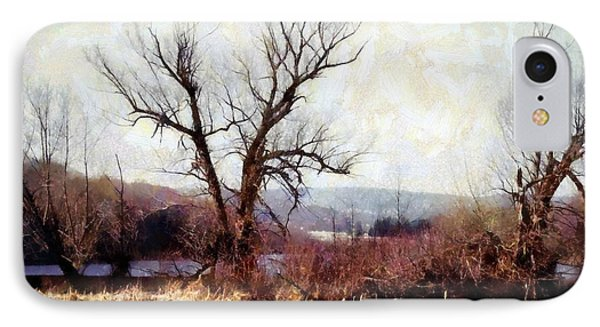 Rustic Reflections IPhone Case by Janine Riley