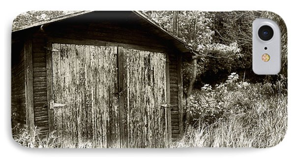 Rustic Shed Phone Case by Perry Webster