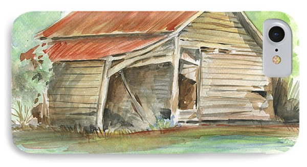 Rustic Southern Barn IPhone Case
