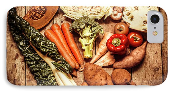 Rustic Style Country Vegetables IPhone Case by Jorgo Photography - Wall Art Gallery