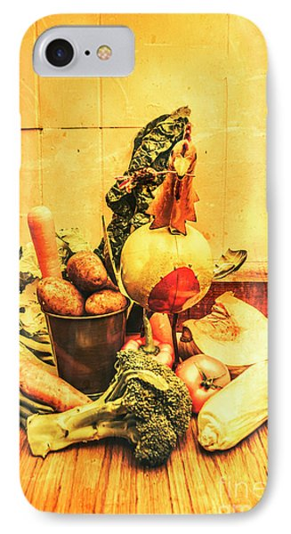 Potato iPhone 7 Case - Rustic Vegetable Decor by Jorgo Photography - Wall Art Gallery