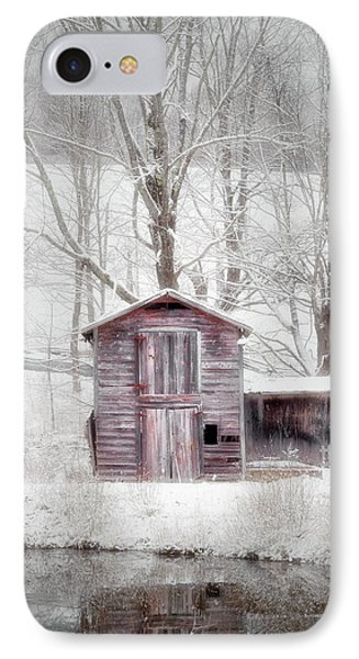 Rustic Winter 2016 IPhone Case by Bill Wakeley
