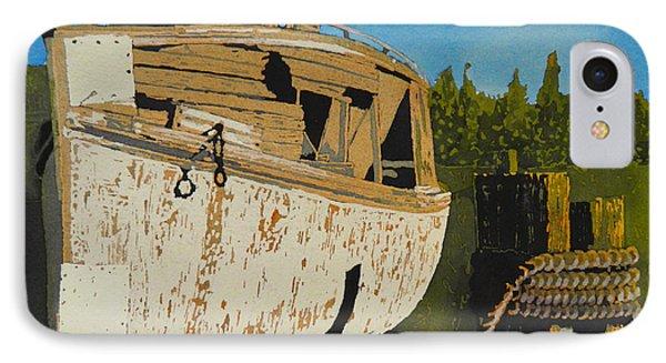 Rusting Away IPhone Case by Terry Honstead