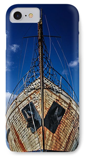 Rusting Boat IPhone Case by Stelios Kleanthous