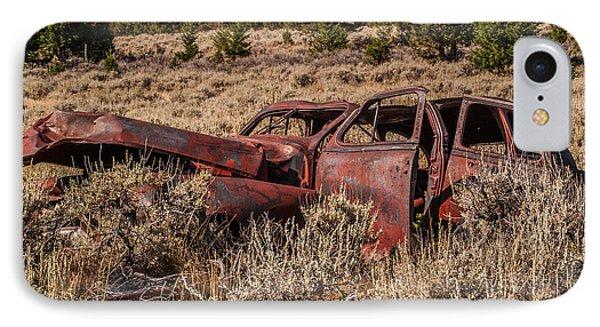 Rusty Automobile Phone Case by Sue Smith