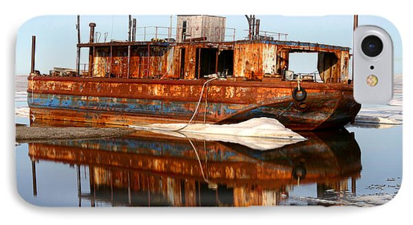 Rusty Barge Phone Case by Anthony Jones