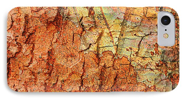 Rusty Bark Abstract IPhone Case by Carol Groenen