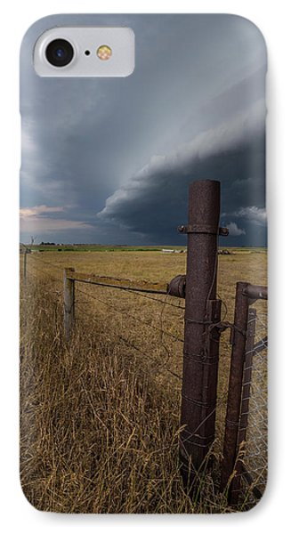 IPhone Case featuring the photograph Rusty Cage  by Aaron J Groen