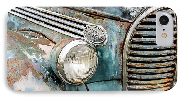 Rusty Ford 85 Truck IPhone Case by David Lawson