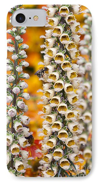 Rusty Foxgloves IPhone Case