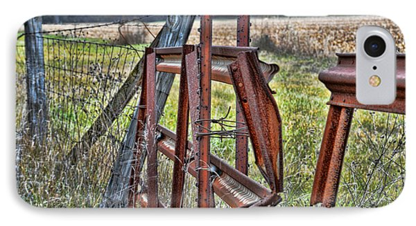 Rusty Gate IPhone Case by Pat Cook