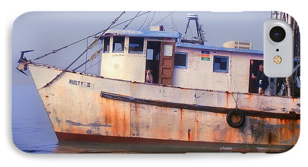 Rusty II And Crew IPhone Case by Laura Ragland
