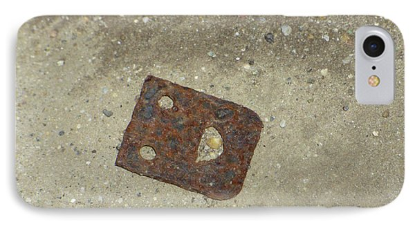 Rusty Metal Hinge Smiley IPhone Case