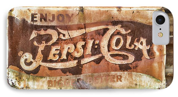 Rusty Pepsi Cola IPhone Case by Steven Parker
