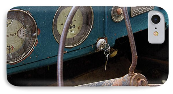 Rusty Plymouth Dashboard IPhone Case