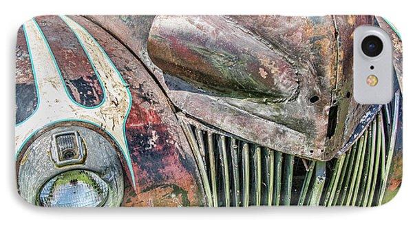 Rusty Road Warrior IPhone Case by David Lawson