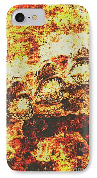 Rusty Shark Scene IPhone Case by Jorgo Photography - Wall Art Gallery