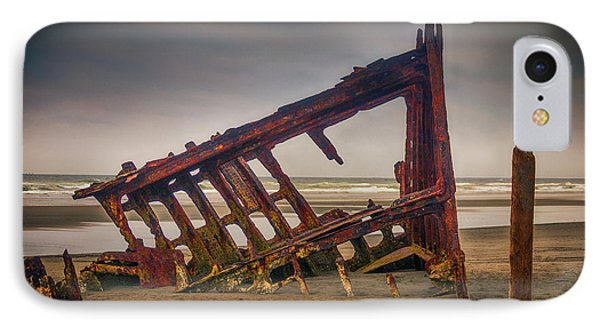 Rusty Shipwreck Phone Case by Garry Gay