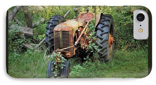 Rusty Tractor 3  IPhone Case