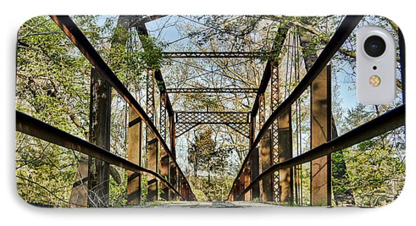 Englewood Bridge IPhone Case by Cricket Hackmann