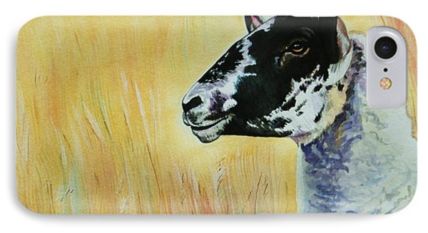Rutland Sheep  Phone Case by Lucy Deane