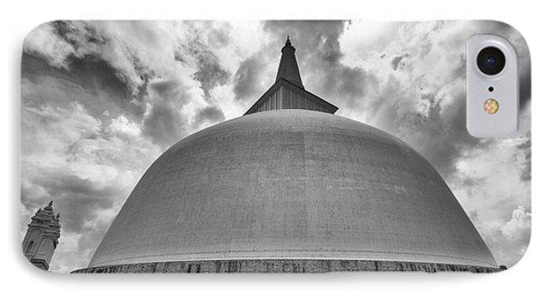 IPhone 7 Case featuring the photograph Ruwanwelisaya, Anuradhapura, 2012 by Hitendra SINKAR