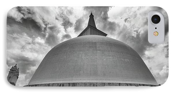 IPhone Case featuring the photograph Ruwanwelisaya, Anuradhapura, 2012 by Hitendra SINKAR