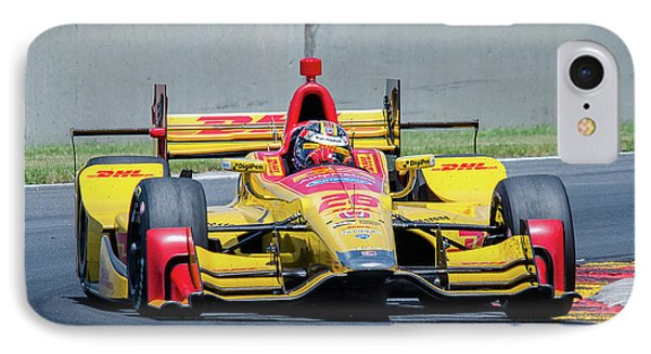 Ryan Hunter-reay IPhone Case by Steven Banker