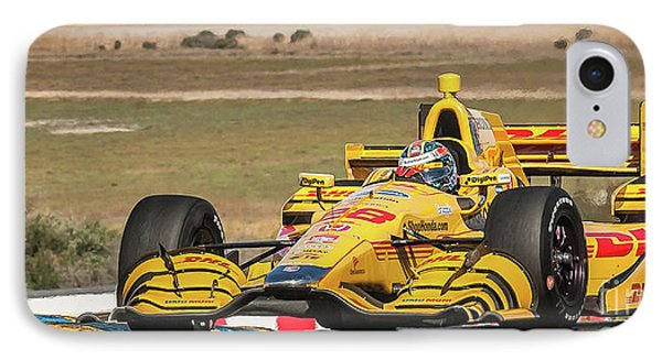 Ryan Hunter-reay IPhone Case by Webb Canepa
